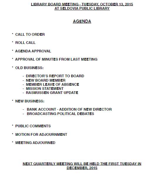 agenda oct2015